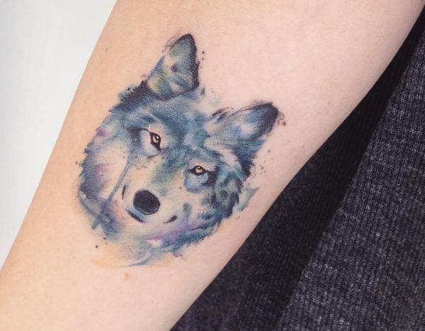 26 Wolf Tattoo Ideen – Bilder und Bedeutung