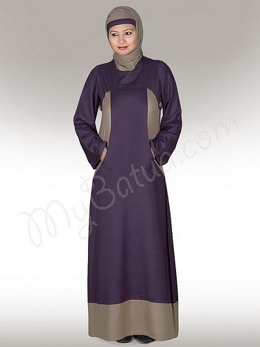 Dual colour Afreen Abaya in vice-verca combinations!