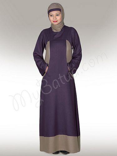 Dual colour Afreen Abaya in vice-verca combinations!