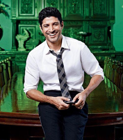 Farhan Akhtar  Oh!!! That smile