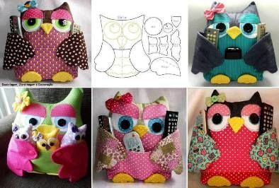 Amazing pillows | TV Remote Owl Pillow Pattern 1