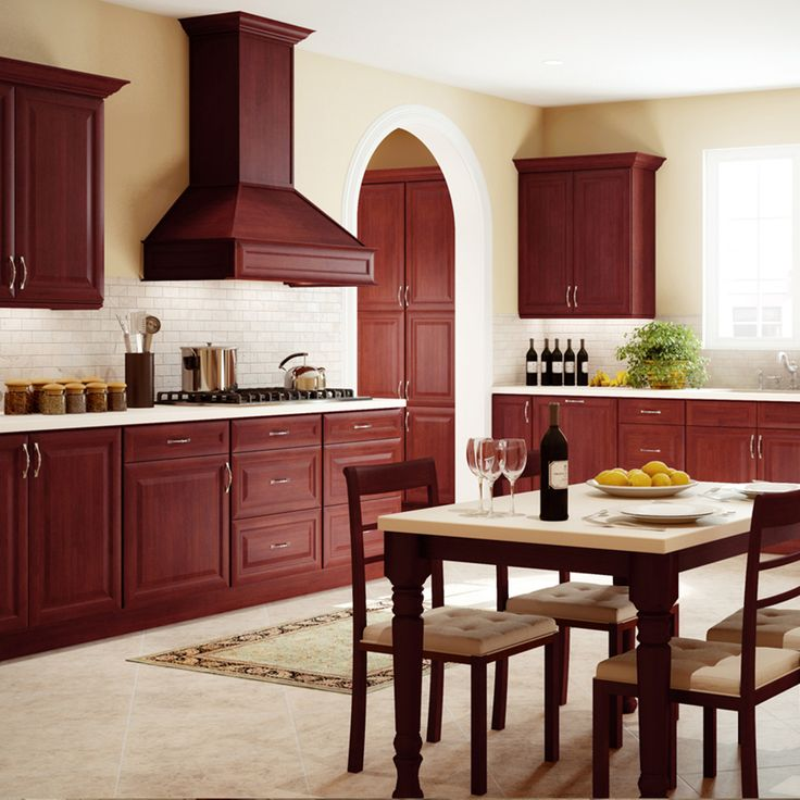 Our #RTA Cherry Classic #Kitchen Cabinet Is A Classic That Does Justice To  Any