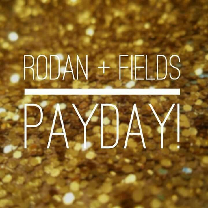 Yes! So excited! Whoot whoot! And so very grateful! Let me help you have an R+F payday too.  #rodanandfields tonyawheat.myrandf.biz