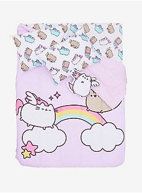 653b1477f4028 Pusheen Super Pusheenicorn Figural Pillow