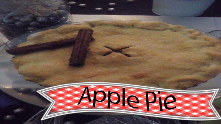 Pie de Manzana  Americano / Apple pie Vintage Pastry