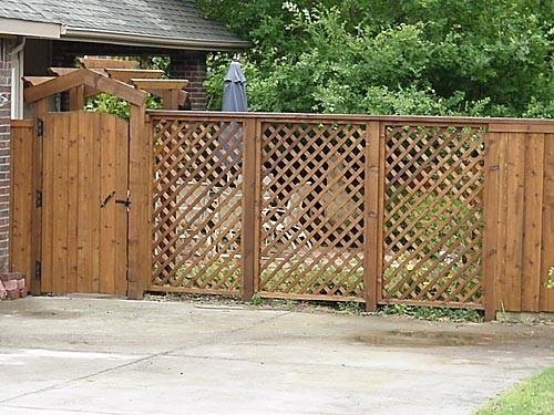 how to put up privacy fence panels