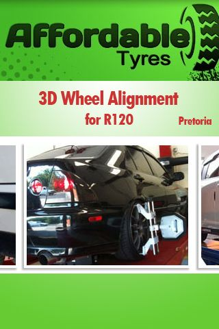 3D Wheel Alignment for R120