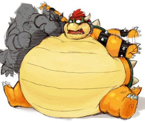 Fat Bowser (by いわの)