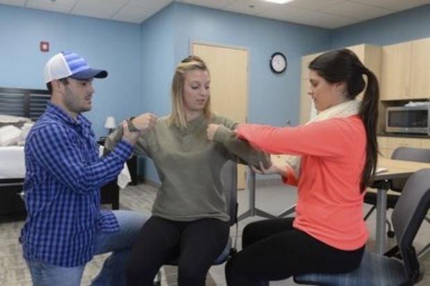 Bay Path University uses realistic apartment to teach occupational therapy