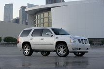 The Best SUVs for Commuters 2013: Cadillac Escalade Hybrid