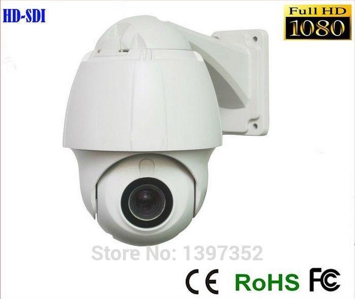 Камеры безопасности 1080 P Мини SDI камеры PTZ 10x зум камеры Высокого Speed Dome 1080 P HD SDI PTZ Камеры Поддержка OSD IP66 водонепроницаемый