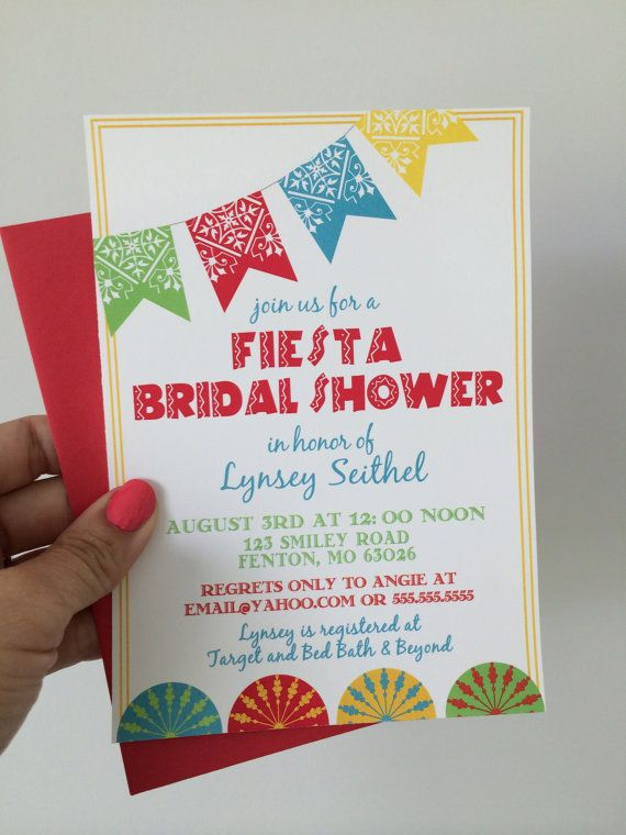 17 Best ideas about Fiesta Bridal Showers on Pinterest | Mexican ...