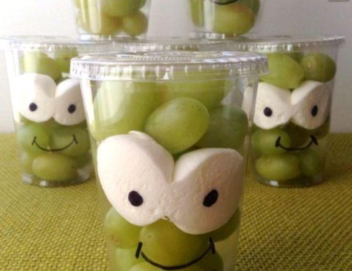 kindertraktaties met fruit