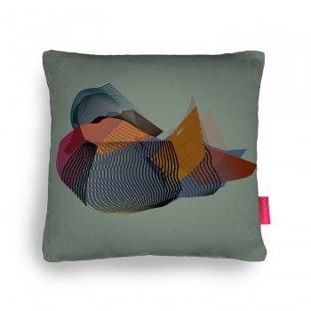 Mandarin Duck Cushion
