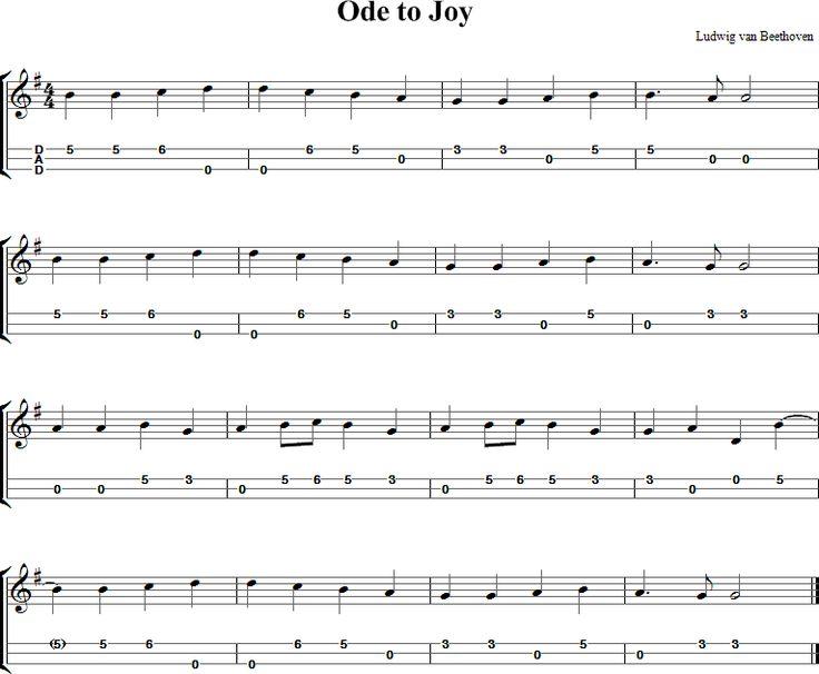 Harmonica u00bb Harmonica Tabs Ode To Joy - Music Sheets, Tablature, Chords and Lyrics