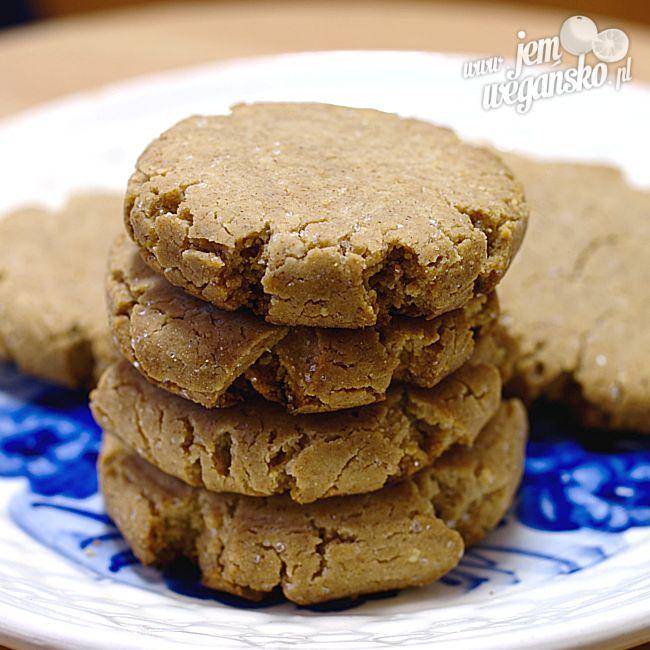Kruche ciasteczka orzechowe – bezglutenowe!   Jem wegańsko
