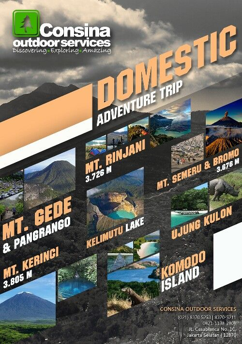 Consina Outdoor Services - Domestic Adventure Trip