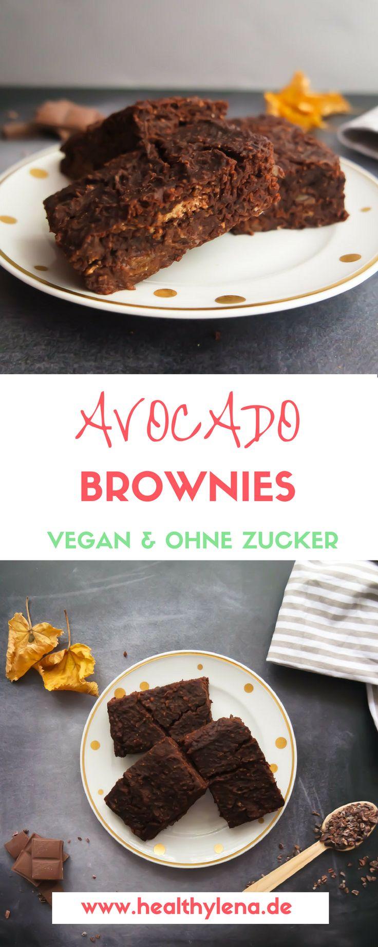 Brownies mit einer versteckten Zutat sind hier ja keine Seltenheit. Dennoch sind die veganen und gesunden Avocado Brownies etwas ganz Besonderes. Sie sind nämlich so unglaublig fudgy & saftig zugleich, dass ein Biss genügt, um mich direkt in den Schoko-Himmel zu transportieren. Nicht, dass es bei einem einzigen Bissen bleiben würde – so gut habe ich mich dann doch nicht unter Kontrolle ;) Hier geht's zum Rezept: vegan, glutenfrei & ohne Zucker.