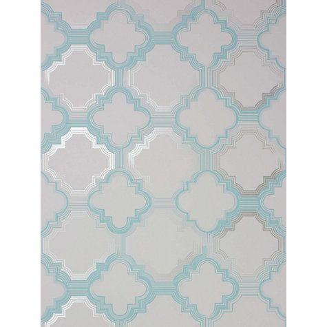 Buy Osborne & Little Quatrefoil Wallpaper Online at johnlewis.com