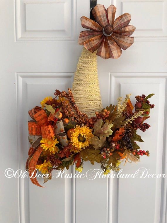 Rustic Fall Decor Pumpkin Door Hanger Autumn Wreath Farmhouse Etsy Pumpkin Fall Decor Rustic Fall Decor Fall Decor