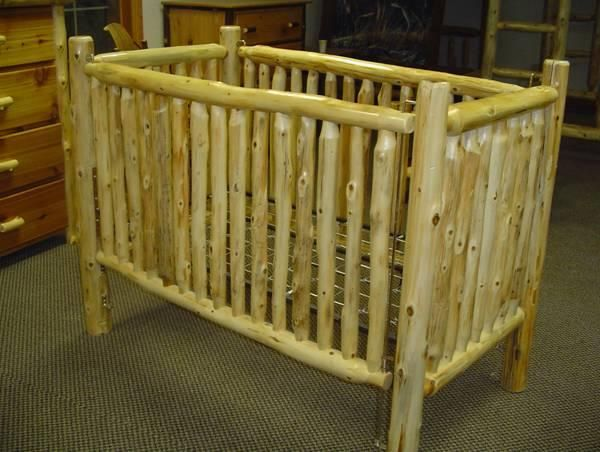 Need This For My Little Man #baby. Log CribNursery FurnitureRustic ...