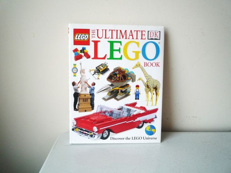 The Ultimate Lego Book : Discover the Lego Universe by Dorling Kindersley...