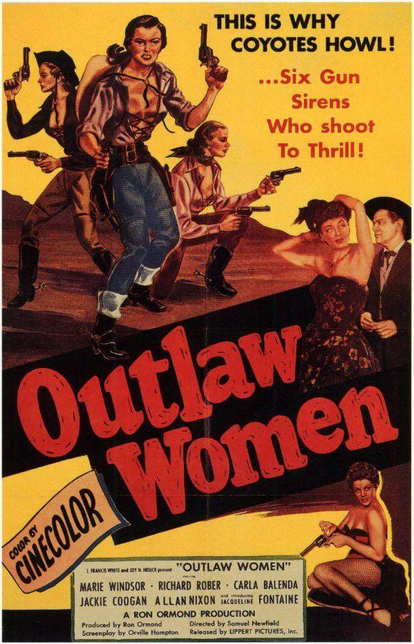 Outlaw Women (1952) - Marie Windsor DVD