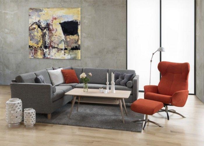sofabord m/hylle - KLEPPE MØBELFABRIKK AS - Retro - Møbelringen