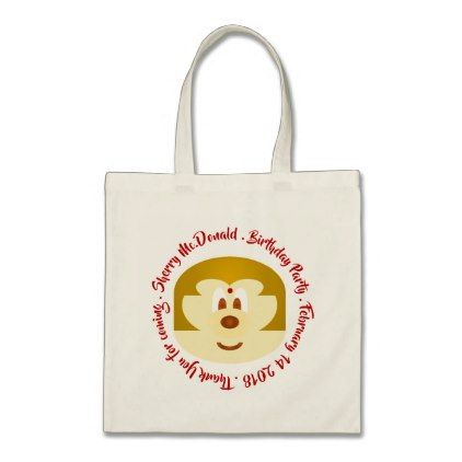 Bob Hair Lady 鮑 鮑 Birthday Souvenir Tote Bag 3 - individual customized designs custom gift ideas diy
