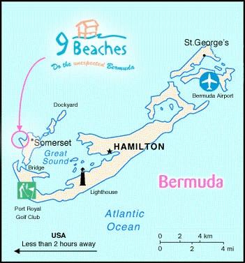 Best BERMUDA ISLAND Images On Pinterest Bermuda Island - Bermuda map usa