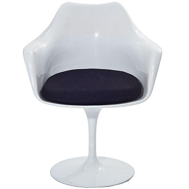 Haas Arm Chair With Black Cushion   Memoky.com