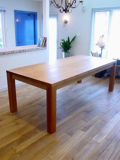 チェリーダイニングテーブルtypeT W220cm / カグオカ