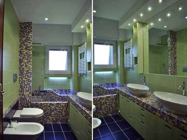 Oltre 25 fantastiche idee su lungo corridoio su pinterest decorare un lungo corridoio - Arredare bagno lungo e stretto ...