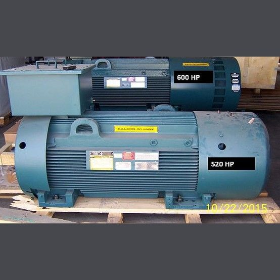 Baldor electric motor supplier worldwide used 520 hp for Used electric motors for sale