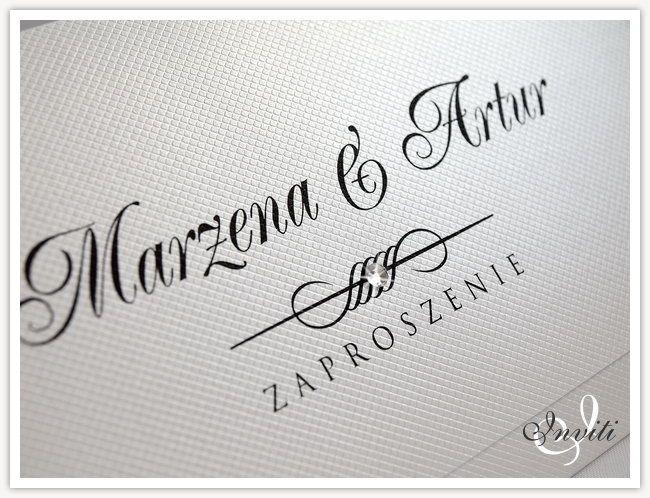 Diamante - Eleganckie zaproszenia ślubne Promocja! (4969205398) - Allegro.pl - Więcej niż aukcje.
