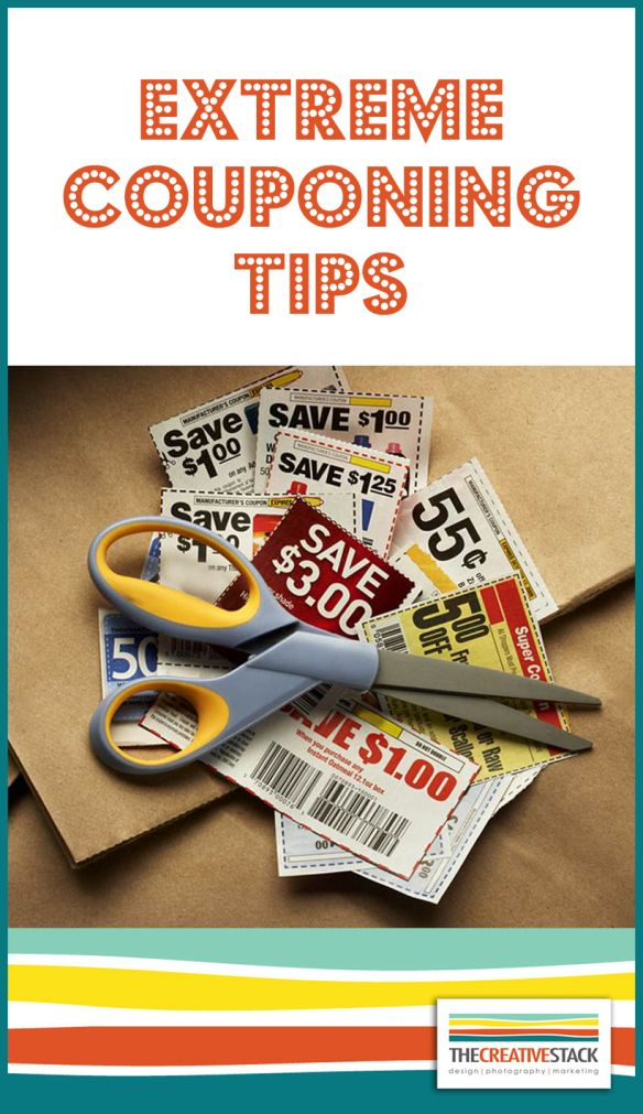 Freebie Friday – Couponing Tips | thecreativestack