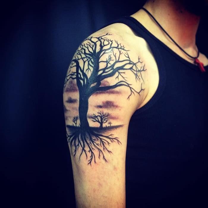 Tattoo Lebensbaum