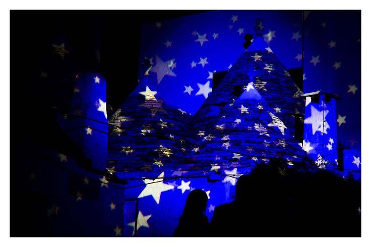 ALBEROBELLO LIGHTCONES by Marika Ramunno #alberobello #unesco #trulli #luci #light #italy #landscape #puglia #tourism