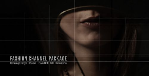 Download VideoHive  Broadcast Design  Fashion Channel Package  Project for After Effects Free