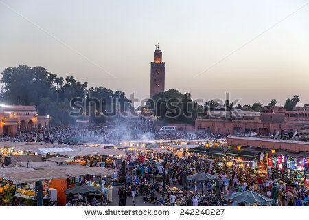 Jemaa EL Fnaa Fotos, imagens e fotografias Stock | Shutterstock