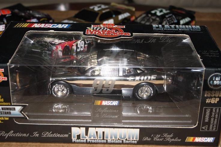 Jeff Burton #99 1999 Racing Champions 1:24 Platinum Exide Batteries #0953/4999 #RacingChampions #Ford