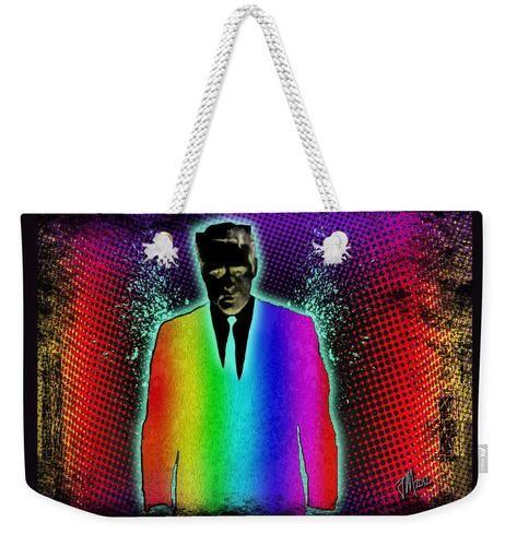 Secret Rainbow Agent - Weekender Tote Bag
