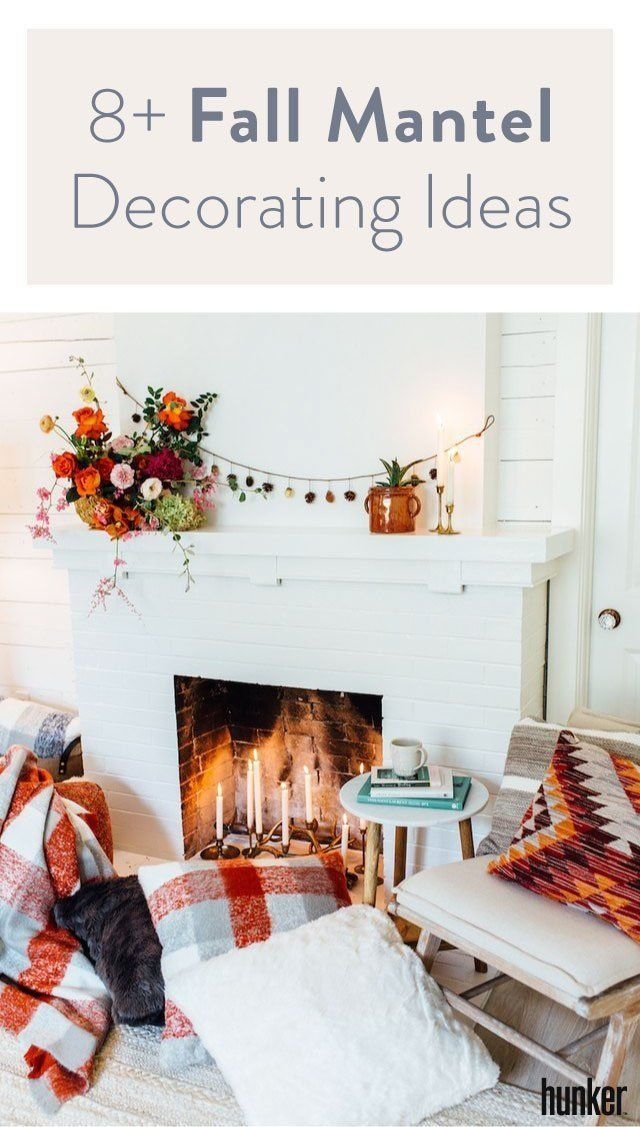 These 9 Fall Mantel Decorating Ideas Are Downright Swoon-Worthy