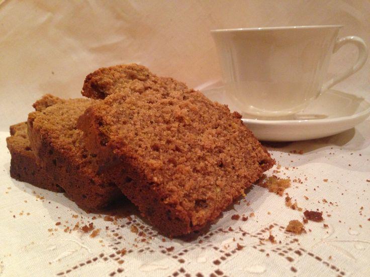 Ginger and Honey Loaf Cake