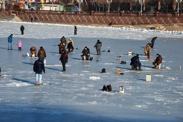 зимняя рыбалка владивосток