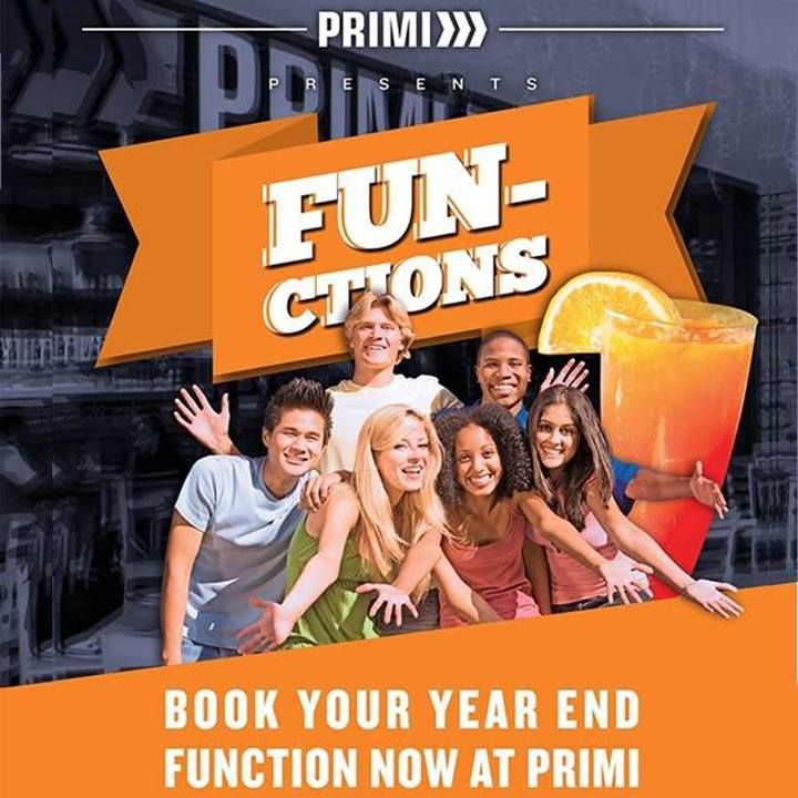 Most of us don't want to know it, but the end of the year is almost here! Come and have fun with your year-end function at Caledon Square - our awesome Primi Piatti will offer you anything you may require to end the year with a blast. Book now! #yearend #primipiatti
