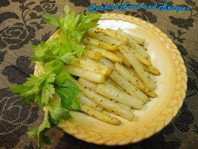Roasted White Asparagus (Firinda Beyaz Kuskonmaz)-----TURKEY