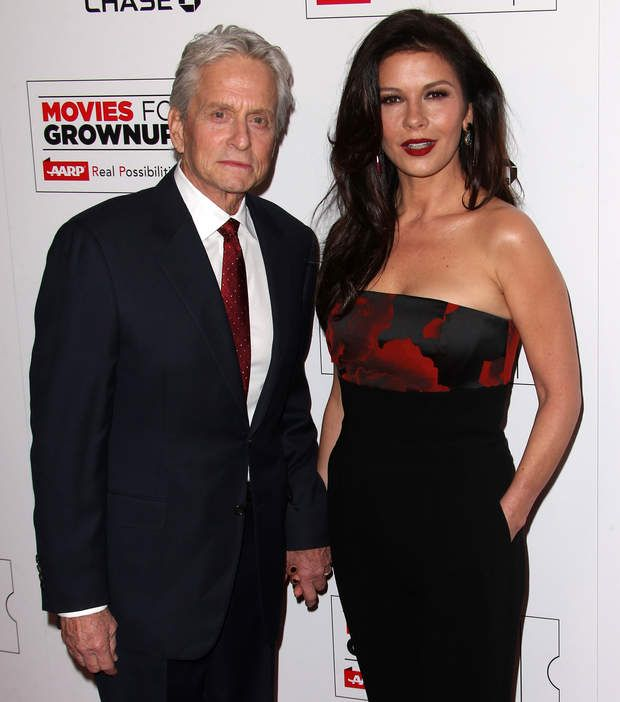 Rencontre zeta jones douglas