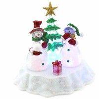 Figura Decorativa de Hombre de Nieve #Decoración #Navidad #CandyLand #Hogar www.pepeganga.com