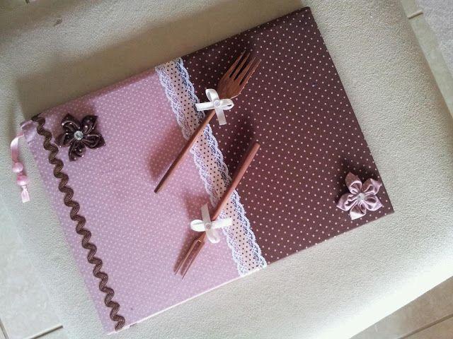 Caderno de Receita   Como fazer artesanato